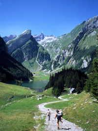 The Appenzellerland in Switzerland is a hiking paradise!