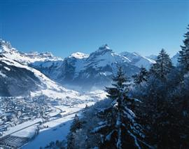 Charming Engelberg in Winter