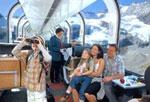 Glacier Express and Bernina Express Panorama Wagon