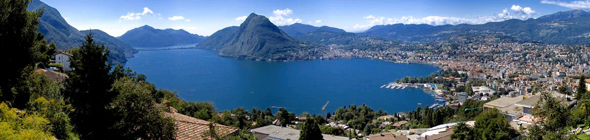 Panorama Picture of Lugano