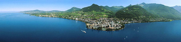 Panorama Picture of Montreux