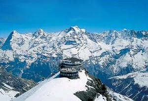 Schilthorn Muerren Switzerland