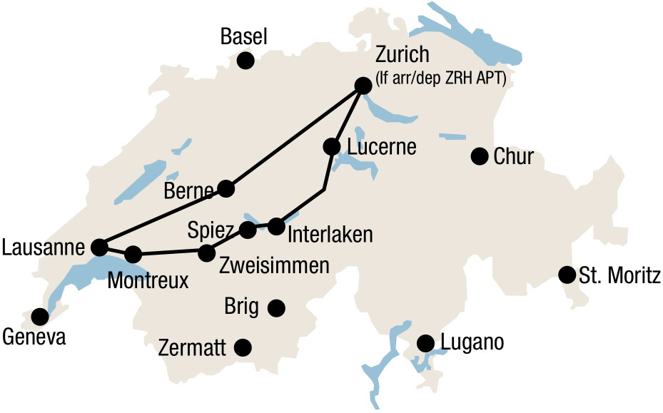 goldenpass-tour-route