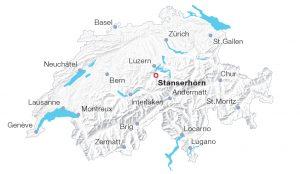 Location Stanserhorn Switzerland